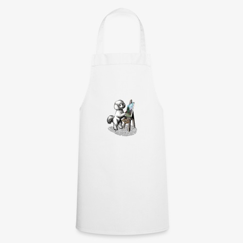 Bichon Frise Painter - Cooking Apron