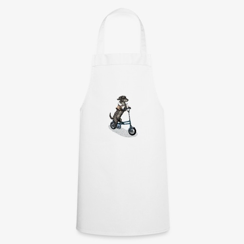 Dog Cyclist - Cooking Apron