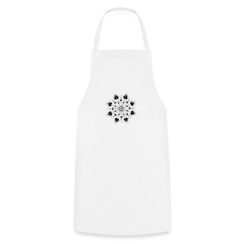 Mandala interior - Delantal de cocina
