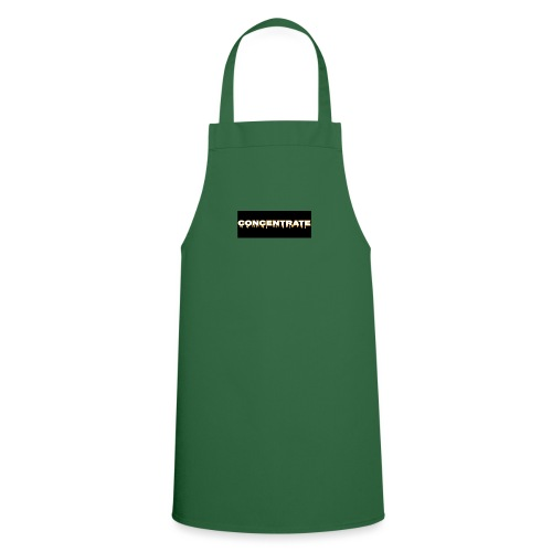 Concentrate on black - Cooking Apron