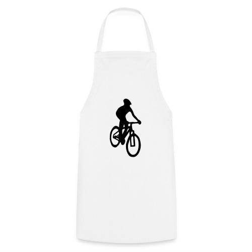 Mountainbiker - Kochschürze