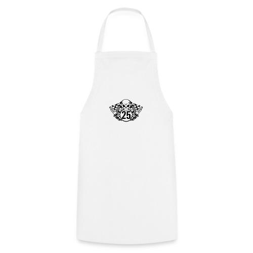 Logo wei schwarz - Kochschürze