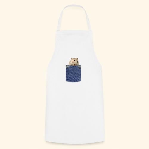 hamster in the poket - Grembiule da cucina