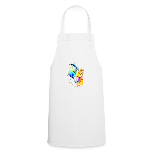 Jument et son poulain - Tablier de cuisine