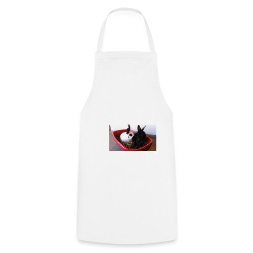 Warme Sachen mit dem Hasenlogo - Kochschürze