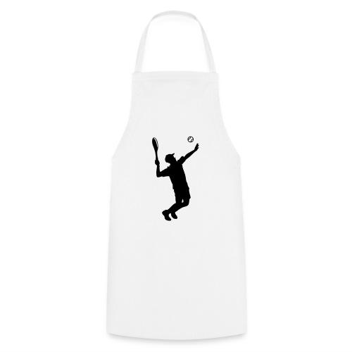 Tennisspieler Silhouette - Kochschürze