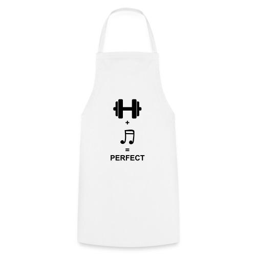 Sport und Musik ist Perfekt - Kochschürze