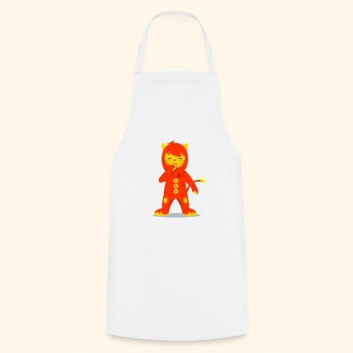 Nene León riendo - Delantal de cocina