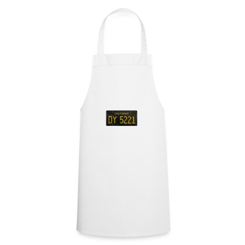 CALIFORNIA BLACK LICENCE PLATE - Cooking Apron