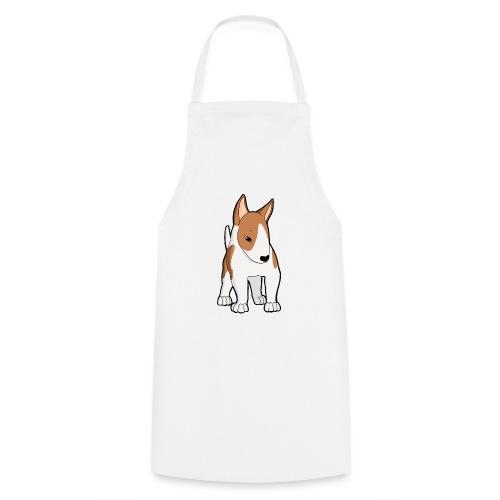 Bull Terrier bianco fulvo - Grembiule da cucina