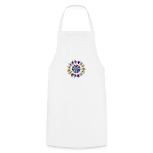 Flowervpower mandala - Keukenschort