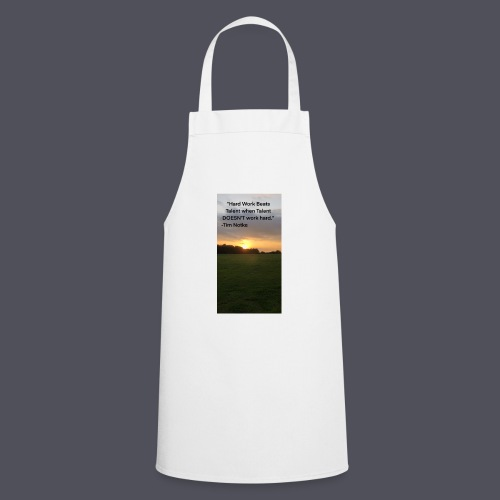 Famous Quote from Tim Notke - Cooking Apron
