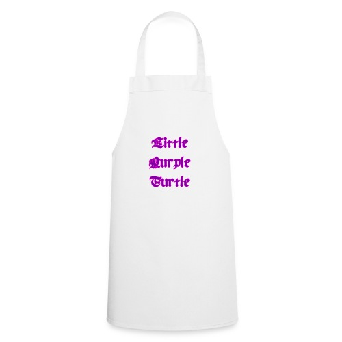 Little Purple Turtle - Cooking Apron