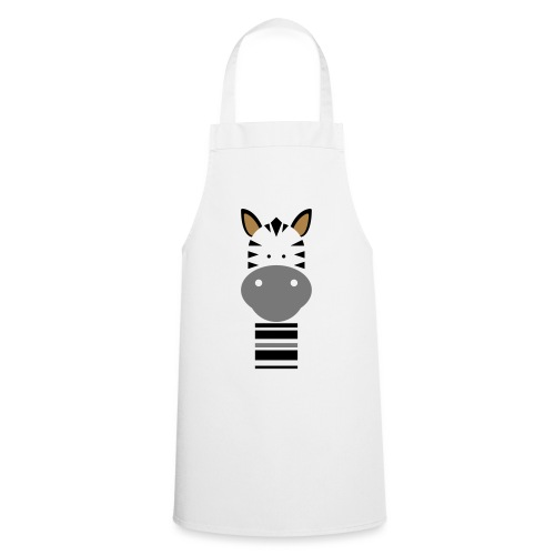 Cute Zebra - Cooking Apron