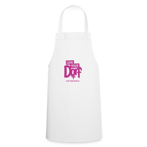 Logo_LYD_pink - Kochschürze