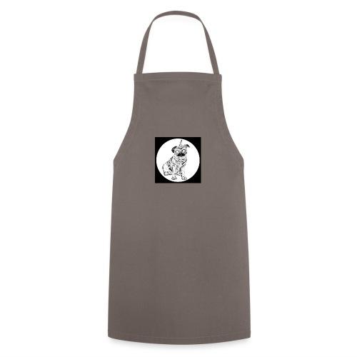 rysunek Pies-Jednorożec - Fartuch kuchenny