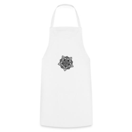 mandala fiore di loto - Grembiule da cucina