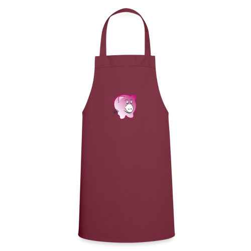 Pig - Symbols of Happiness - Cooking Apron