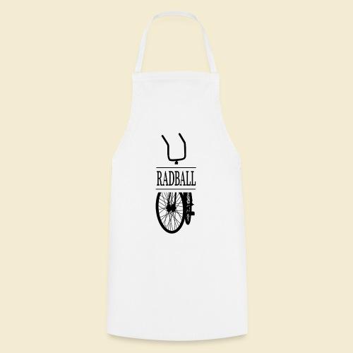 Radball | Retro Black - Kochschürze