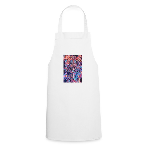 Evil Art Abstract - Cooking Apron