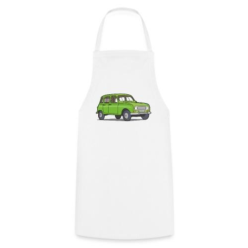 Grüner R4 (Auto) - Kochschürze