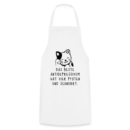 Katzen sind das beste Antidepressivum - Kochschürze