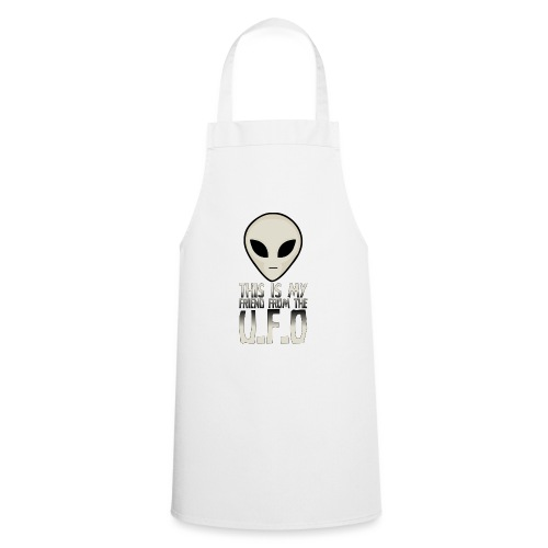 My Friend From The UFO - Cooking Apron