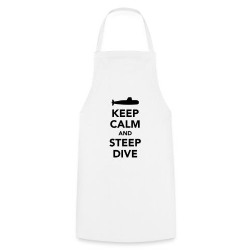 Keep Calm & Steep Dive - Tablier de cuisine