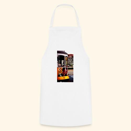 Scorcio tram colorato - Grembiule da cucina