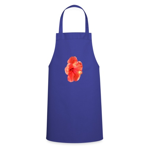 A red flower - Cooking Apron