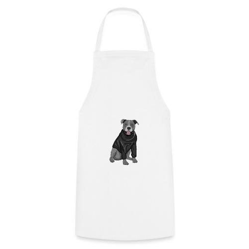 Süßer Hund Pullover Pulli Stafford Geschenk Idee - Kochschürze