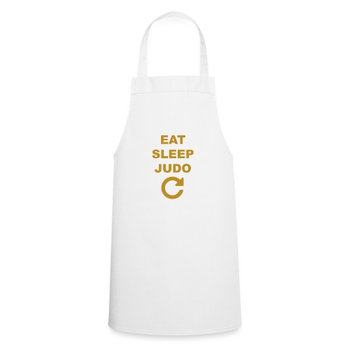 Eat sleep Judo repeat - Fartuch kuchenny