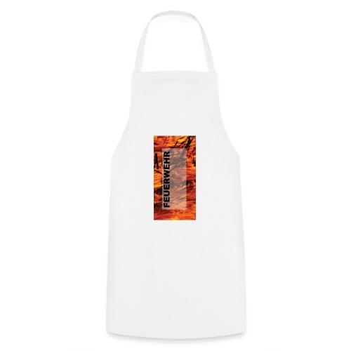 Feuerwehr Handycover - Kochschürze