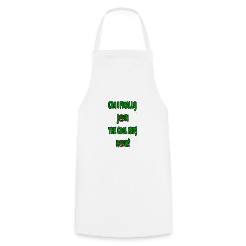 Cool Kids White T-Shirt - Cooking Apron
