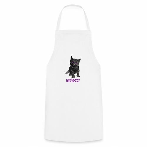 Katze Schwarz - Kochschürze