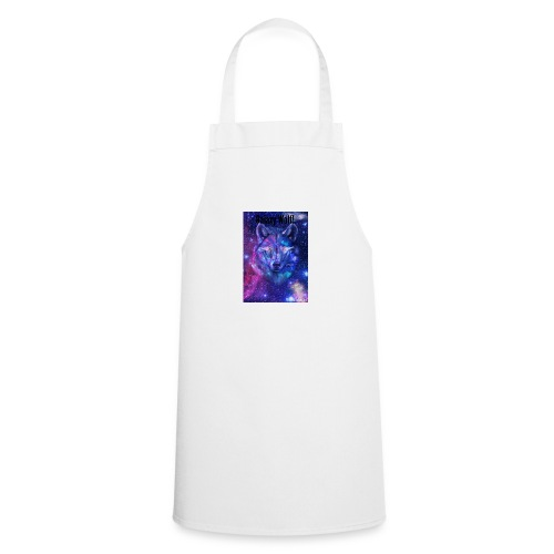 Galaxy wolf t-shirt - Cooking Apron