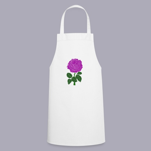Landryn Design - Pink rose - Cooking Apron