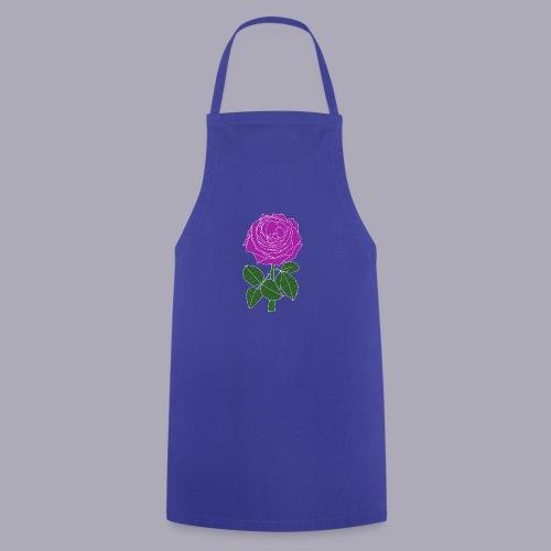 Landryn Design - Pink rose - Cooking Apron