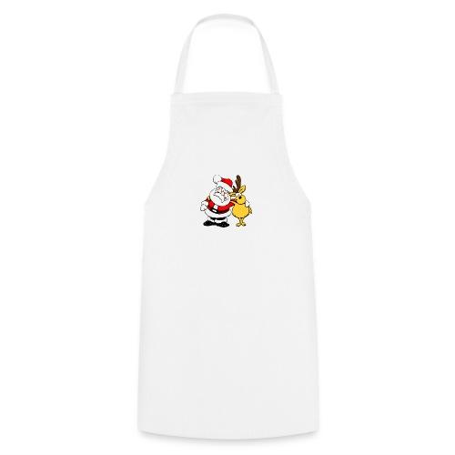 Weihnachtsmann - Kochschürze