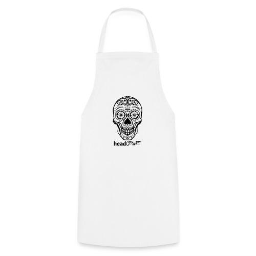 Skull & Logo black - Kochschürze