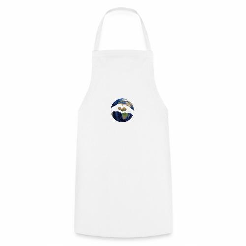 Zu zweit um die Welt - Logo - Kochschürze