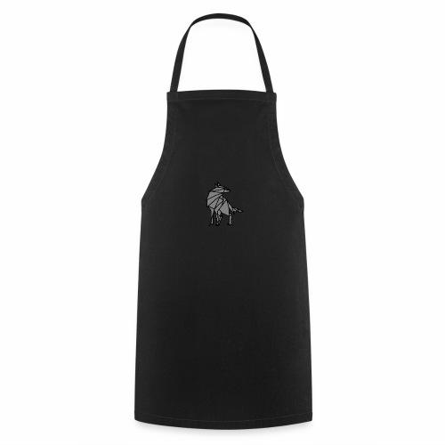 loup geometrique - Tablier de cuisine