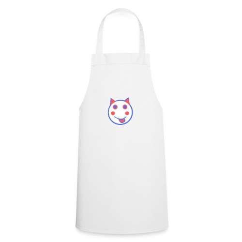 Red White And Blue - Alf Da Cat - Cooking Apron