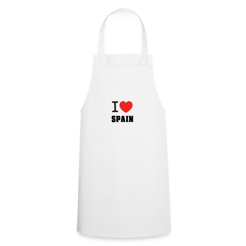 I love spain - Delantal de cocina