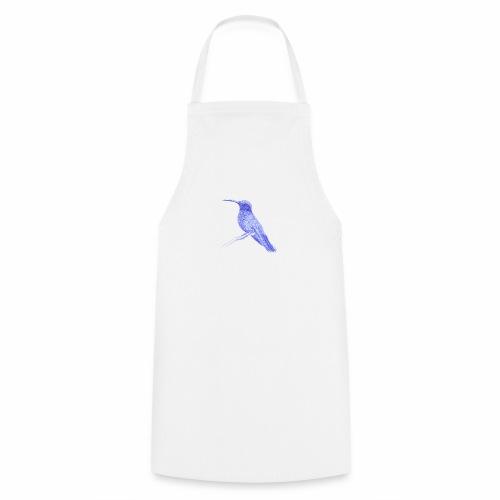 Hummingbird with ballpoint pen - Cooking Apron