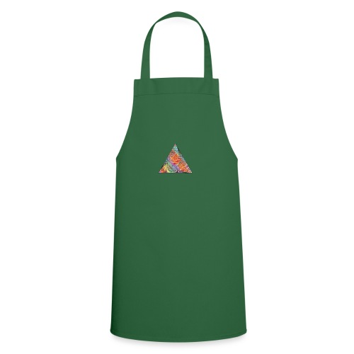 Triangle of twisted color - Cooking Apron
