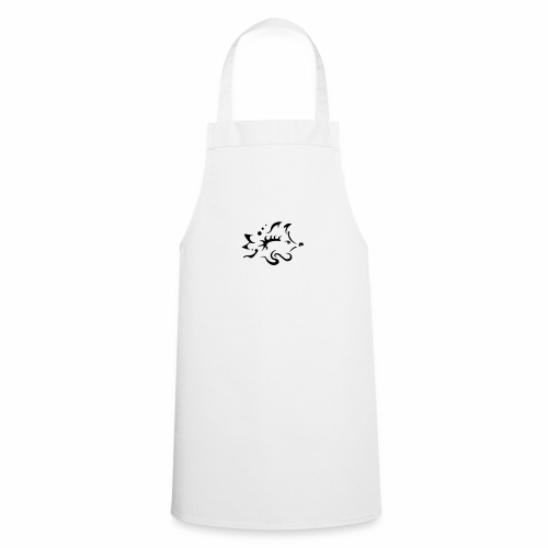 Hedgehog, pure tribal design - Cooking Apron