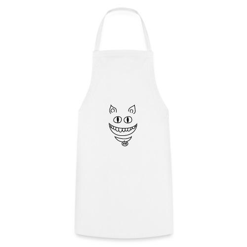 Gato sonriente - Delantal de cocina