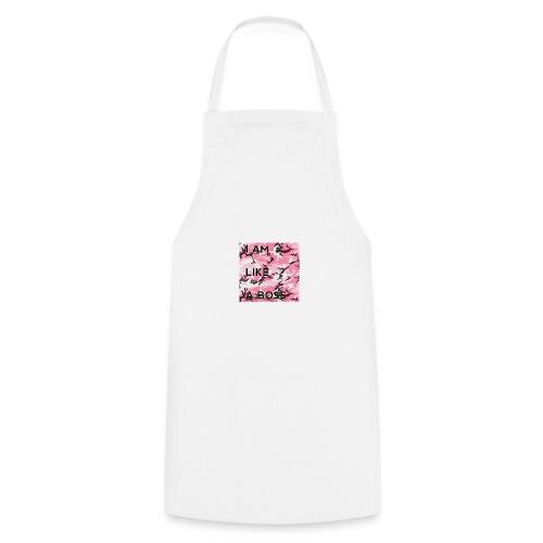 i am loke a boss premium pink camo - Kochschürze