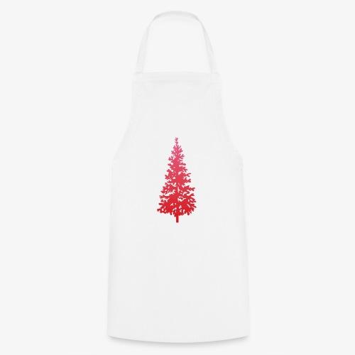 navidad árbol regalos fiesta Christmas - Delantal de cocina